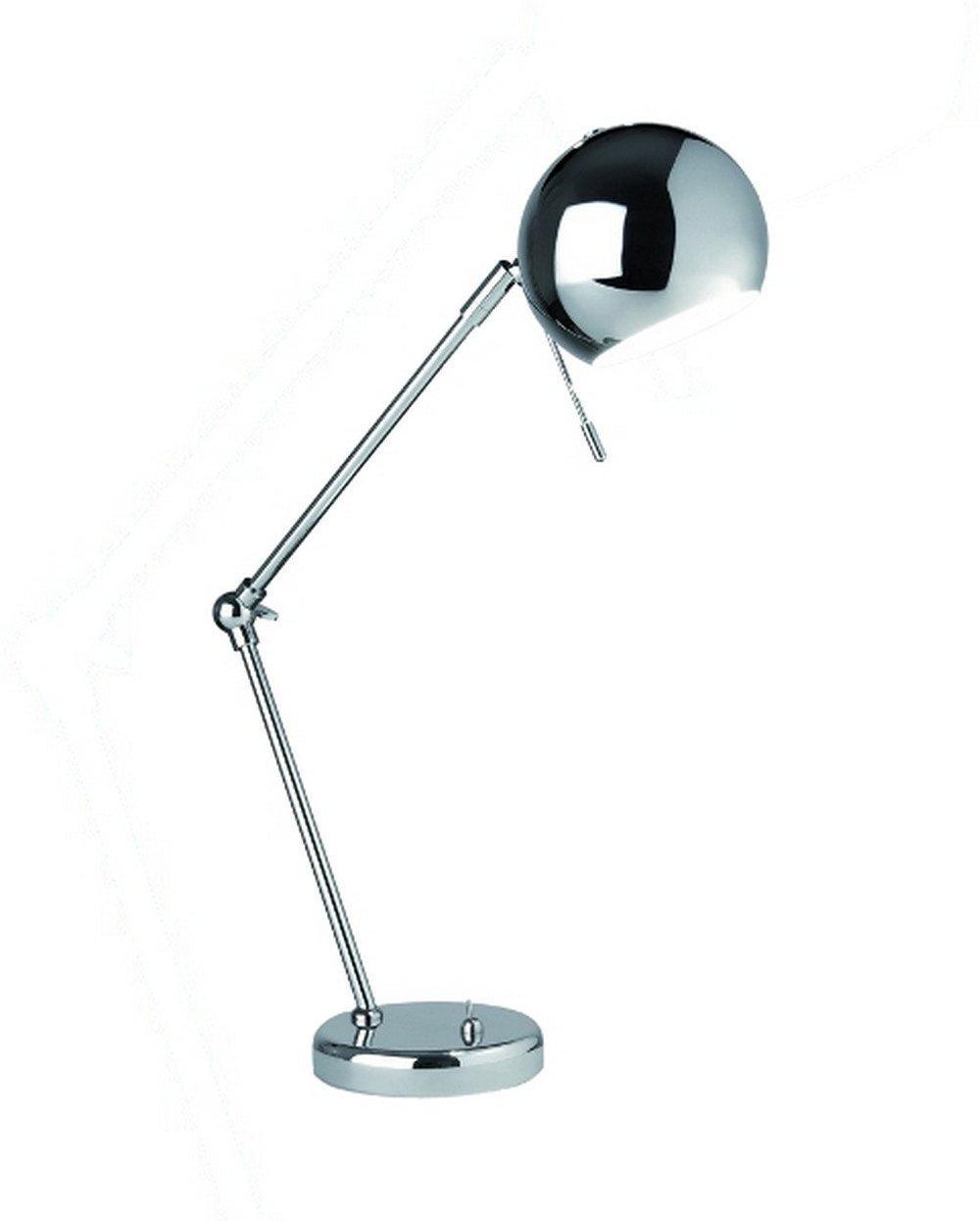 Sompex Modern Chrome Desk Lamp Chronos Stores