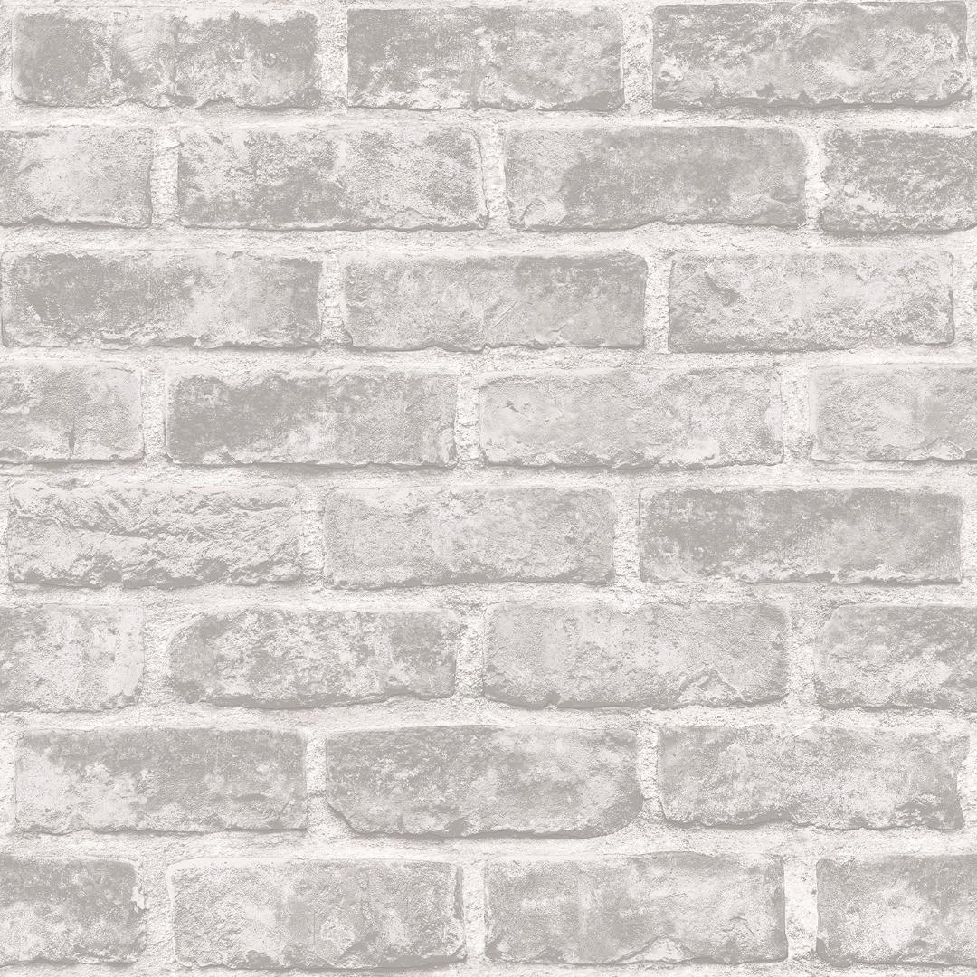 Grey Brick Wallpaper 02 | Chronos Stores